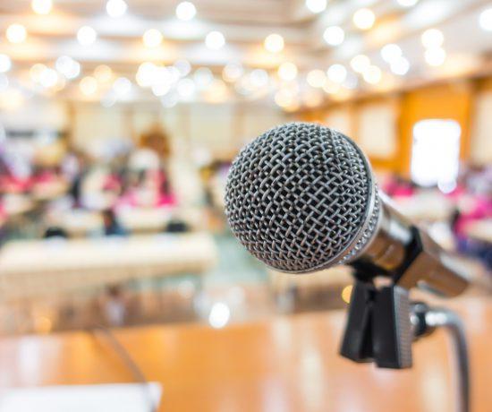 Ein Mikrofon als Symbolbild für den Kongress