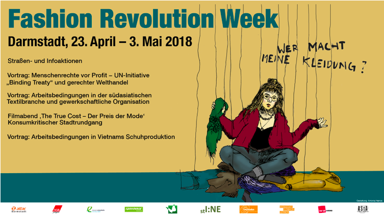 Fashion Revolution Week 2018 Darmstadt