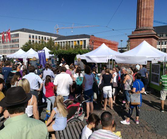 Umweltinformationsbörse 2019 auf dem Luisenplatz