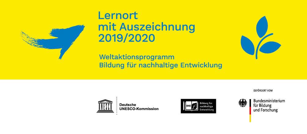 Lernort mit Auszeichnung 2019/2020